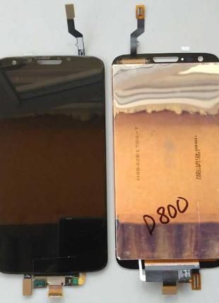 Дисплей + тачскрин для LG D800/D801/D803/LS980/G2 Black