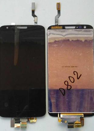 Дисплей + тачскрин для LG D802 G2 Black