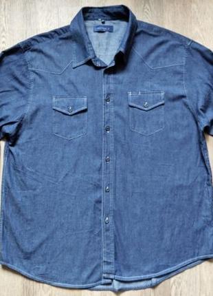 Мужская джинсовая рубашка Watson's, размер XХL