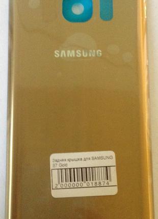 Задняя крышка для мобильного телефона SAMSUNG S7 Gold