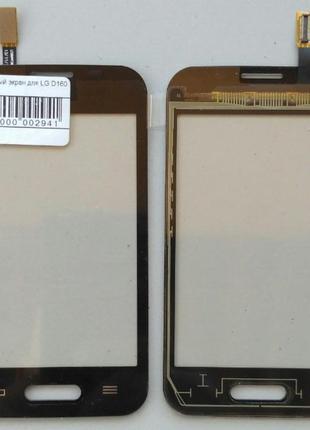 Сенсорный экран для LG D160/L40 One Sim Black