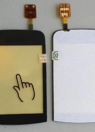 Сенсорный экран для NOKIA C2-02/C2-03/С2-06 Black