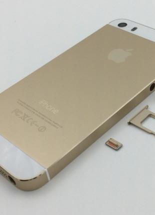 Корпус для мобильного телефона iPhone 5S Gold