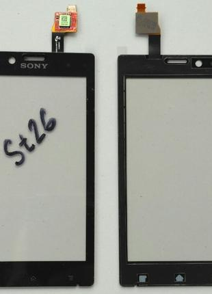 Сенсорный экран для SONY XPERIA J ST26i Black
