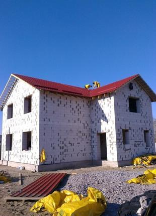 Строительство дома, коттеджа под ключ