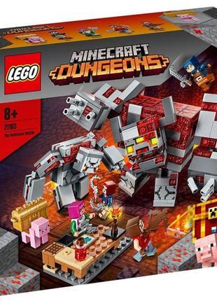 Конструктор LEGO 21163 Minecraft Битва за красную пыль 504 дет...
