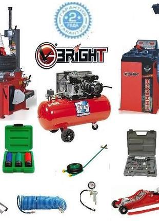 Шиномонтажное оборудование под ключ Bright - комплект за 2200$.