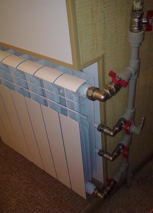 Замена и монтаж радиаторов