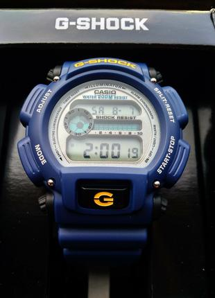 Часы наручные Casio G-Shock DW-9052-2V оригинал, цифровые, син...