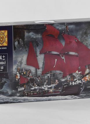 """Конструктор 180047 (12) """"Пиратский корабль"""", 1150 деталей"""