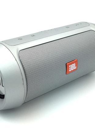 Колонка Bluetooth JBL Charger 2+ Silver