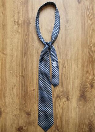 Превосходный шелковый галстук краватка ручная работа hermes