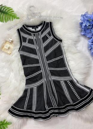 Новое бандажное платье для девочки на 5-7 лет