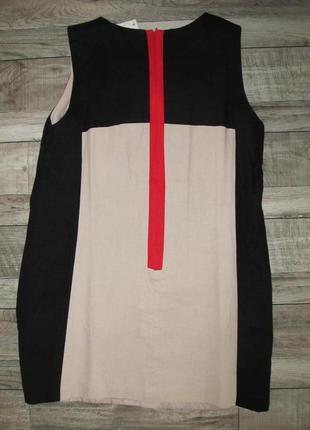 Платье из льна для жаркого лета debenhams р.18
