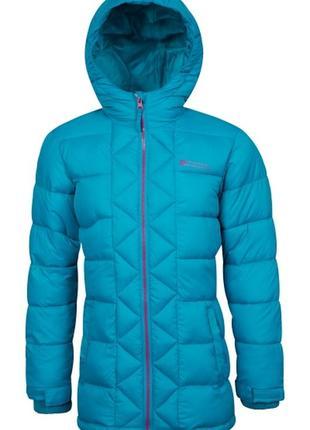 Удлиненная куртка  парка mountain warehouse на 11-12 лет