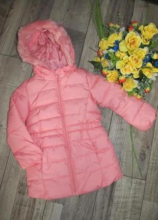 Удлиненная куртка для девочки kiki&koko германия сезон осень-в...