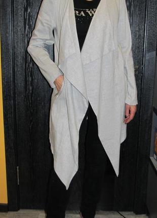 """Тонкое пальто """"пыльник"""" от new look р.14"""