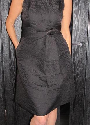 Шикарное платье с пышной юбкой от laura ashley р. 8