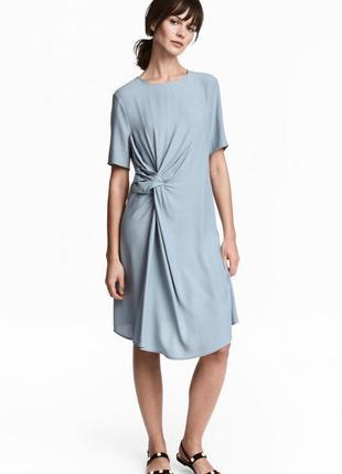 100% вискоза  платье h&m р. 10 на параметры 170/92а