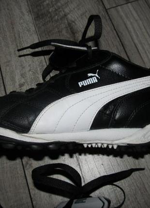 Мужские кожаные кроссовки puma р.43 стелька 28 см