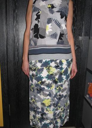 100% вискоза платье warehouse р.14