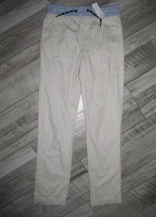 Стильные котоновые брюки м&co на 12-13 лет- смотрите замеры!!!