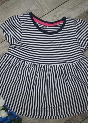 Трикотажное платье george для девчульки 1,5-2 года.