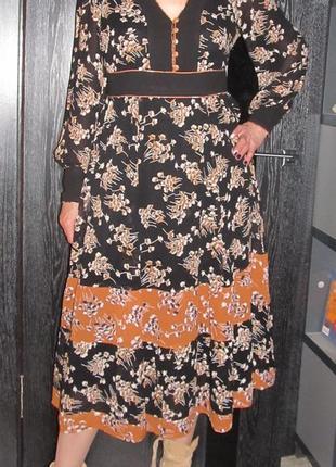 Красивенное  платье от monsoon р 14