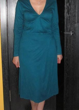 Платье на запах atmosphere р.18 маломер