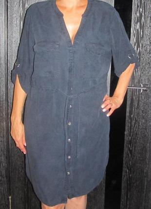 Платье рубашка f&f р.16