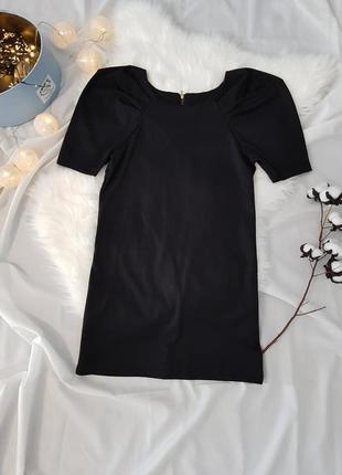 Сукня з пишним рукавом. платье прямого кроя