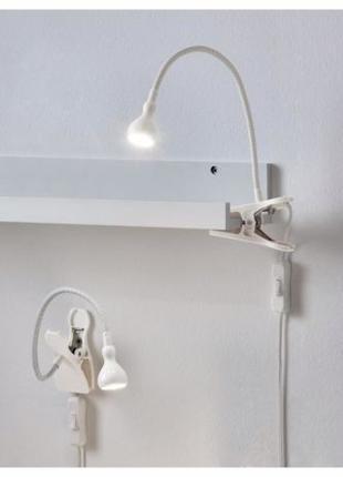 Лампа с зажимом / Настенная Светодиодная JANSJO IKEA / Яншо Ик...