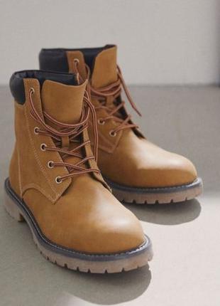 Высокие Ботинки H&M ! Берцы / под Тимберленд