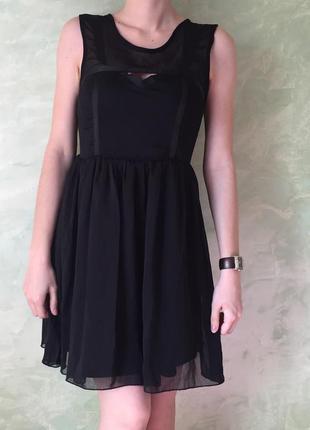 Нарядное платье tally weigl, размер xs, нарядное, шифоновое za...