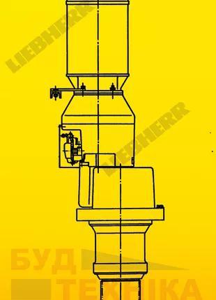 Электрический мотор поворота башенного крана Liebherr 120 HC