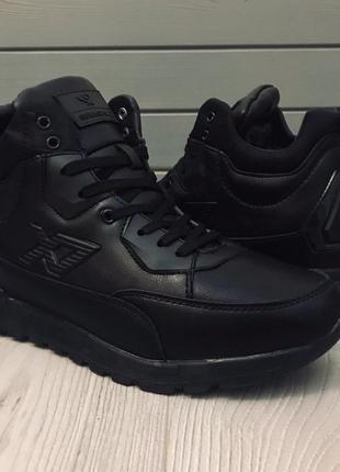 Зимние мужские теплые ботинки