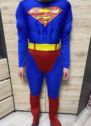Детский костюм супермен на 11-12, 13-14 лет