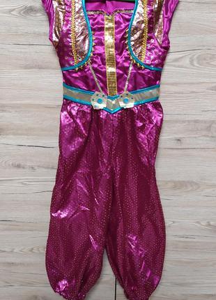 Детский костюм жасмин, шаймер и шайн, для танцев живота на 5-6...