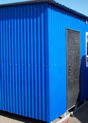 Строительство блок-контейнеров (бытовок)