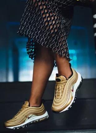 Оригинал, Nike Air Max 97 Gold ( 23 см стелька)