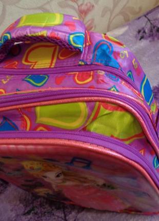 Красивые рюкзаки  с ортопедической спинкой для мальчиков и дев...