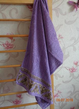 Лицевые махровые полотенца. выбор цвета
