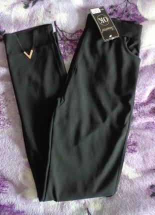 Брючные лосины с карманами.  красивая модель.  добавились размеры