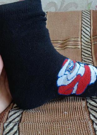 Махровые мужские носки с новогодней тематикой. последние пары