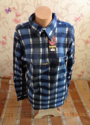 Теплые флисовые мужские рубашки. разные цвета и размеры 50-62....