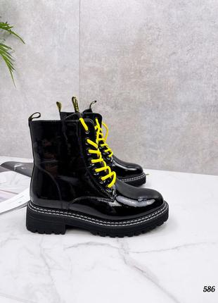 Ботинки натуральные есть в замше,кожа, лак