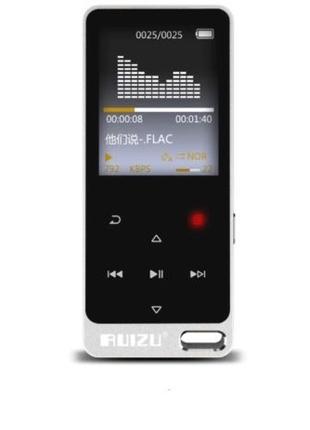 MP3 плеєр Ruizu X05S 8Gb, FM, MicroSD до 128ГБ