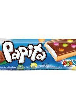 Печенье Papita с кокосовым кремом в молочном шоколаде 33г