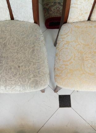 Химчистка стула с 2-мя спинками