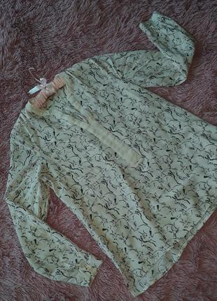 Нежная рубашечка с кроликами